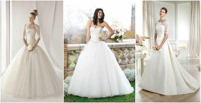 Подборка фото пышных свадебных платьев на девушках 491ee476898af