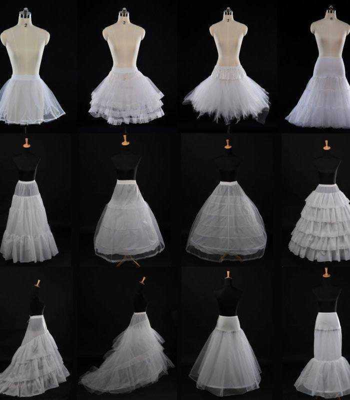 Під юпник для весільного плаття з кільцями і без них 8eef8e53af9d4
