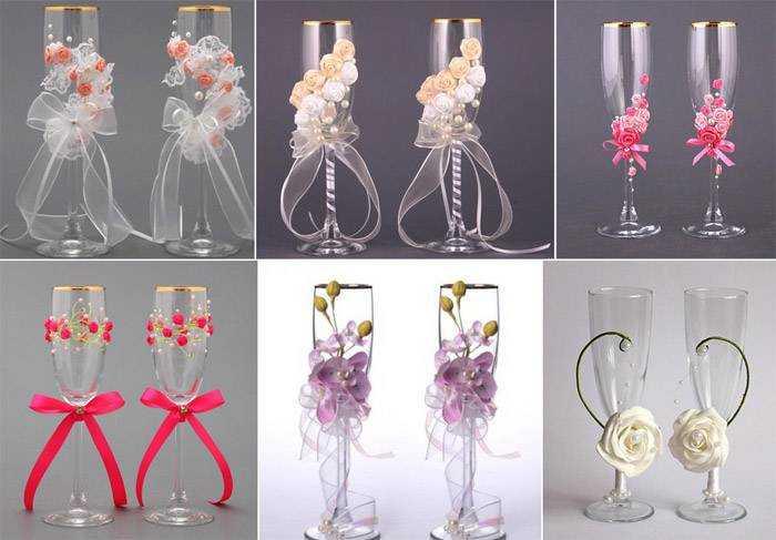 Как украсить стаканы на свадьбу своими руками фото 30