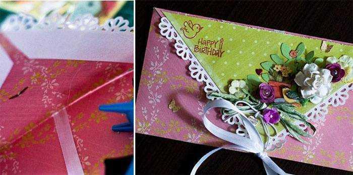 Красивый конверт для денег своими руками на день рождения 24