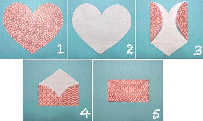 Как сделать большой конверт своими руками 59