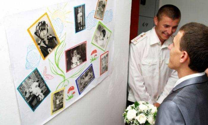 Конкурс на выкупе с фотографией невесты