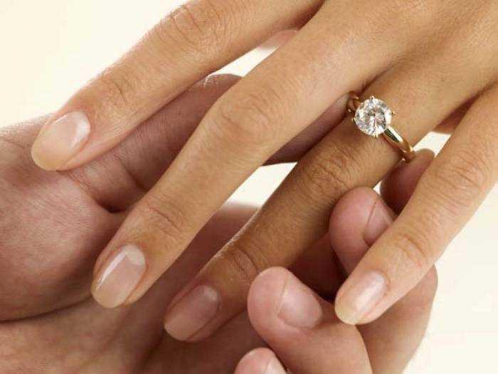 На який палець одягають кільце на заручини і як правильно носити f55fddf014dd5