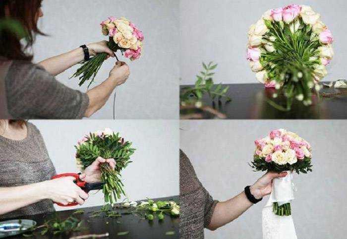 Идеи для букетов из цветов своими руками 20