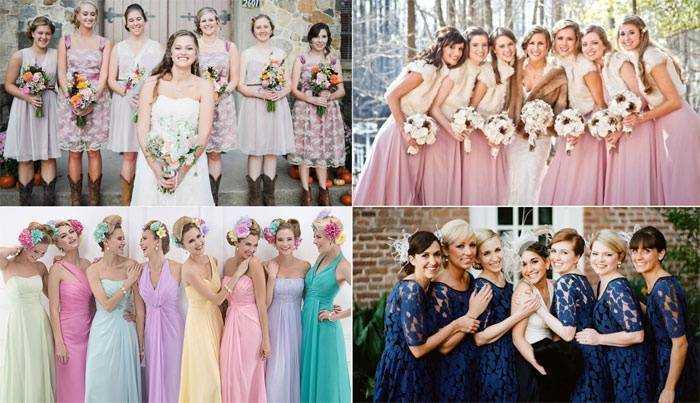 9784c4c179d153 Подружки нареченої в однакових сукнях фото і відео, привітання на ...