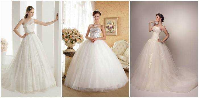 Пишні весільні вбрання 2015 підійдуть високим нареченим 3c1a1bc23f1d2