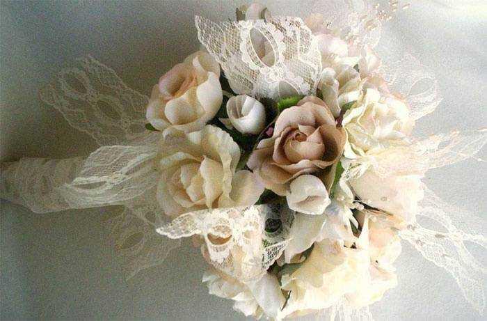 Свадебные Букеты Для Бежевого Платья