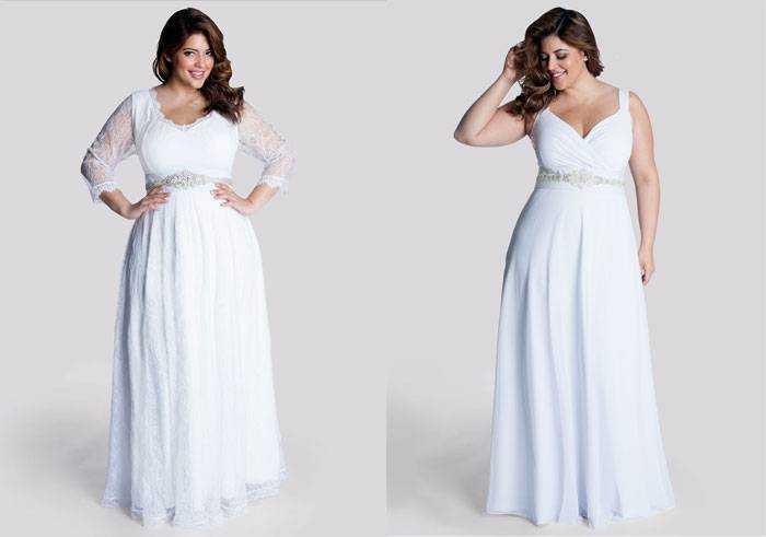 Весільні сукні 50 52 розміру - який фасон вибрати 078458f664462