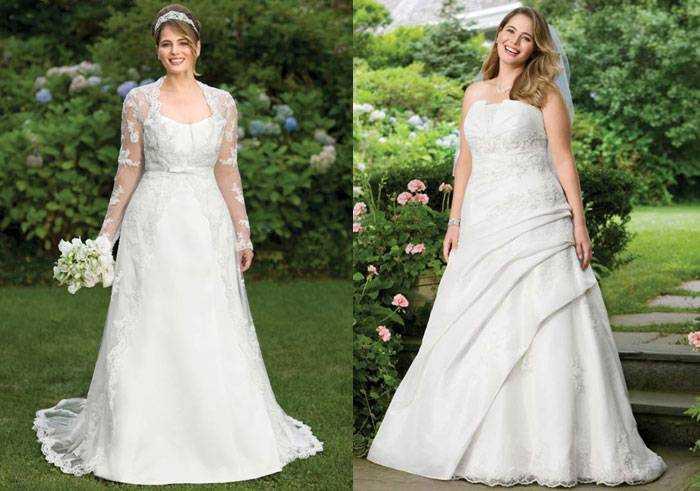 Весільні сукні 50 52 розміру - який фасон вибрати a6f62391238b1