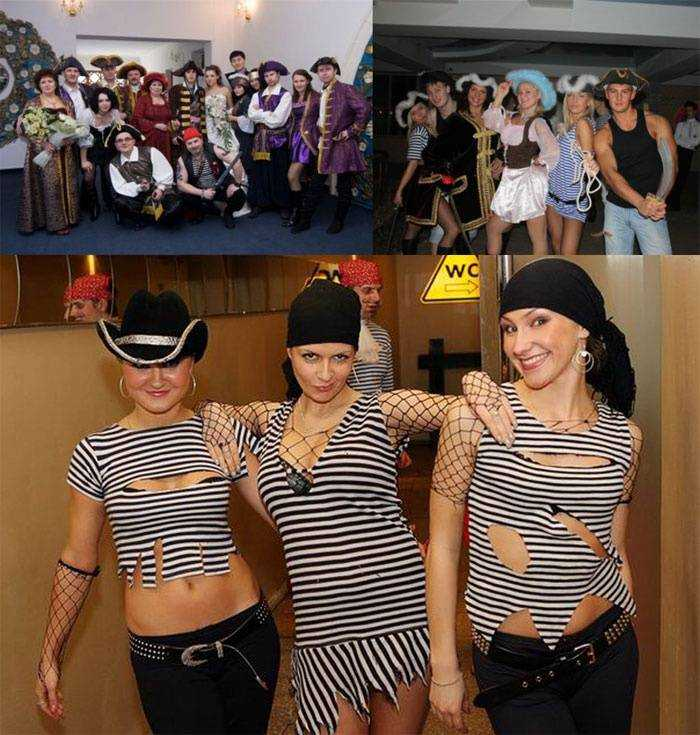 Пиратская вечеринка : костюмы своими руками m