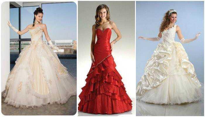 Модні весільні сукні - тенденції 2015 року 3b8f461edcc87